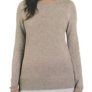 Hilary Radley Tops - Hilary Radley Women's Two-Fer Sweater